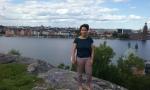 Aypau at Malarstranden - Stockholm, in holiday mood