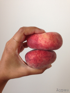 peaches and golden ring
